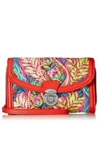 Paisley-in-paradise Ultimate Wristlet