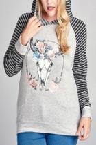 Hooded Boho Pullover