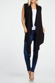 Asymmetrical Knit Vest