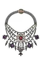 Tiered Crystal Necklace