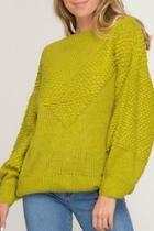 Cory Chevron Sweater