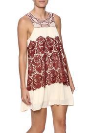 Paprika Lace Dress