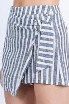 Striped Skort Shorts