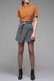 Asymmetrical Felt Skirt