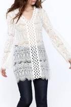 See Through Crochet Top