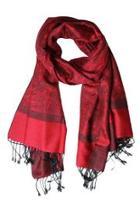Red Pashmina