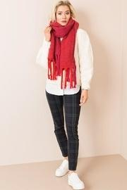 Chunky Cable-knit Scarf