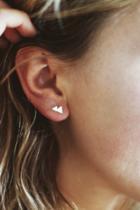 Mini Mountain Stud Earrings
