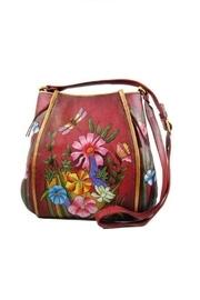Hand-painted Floral Crossbody