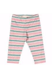 Capri Texta Stripe With Spots Leggings