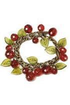 Cherries Charm Bracelet