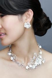 Wedding Necklace-set Flowers