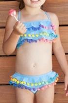 Pom-pom Bikini Set
