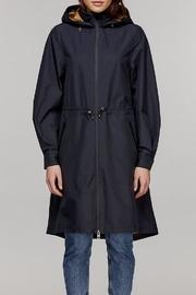 Gabi Hooded Raincoat