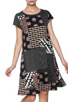 Multi Pattern Dress