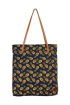 Pineapple Print Tote-bag