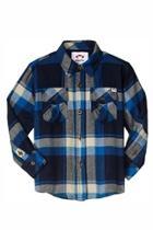 Plaid Flannel Shirt Top