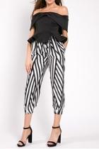 Abstract Pants