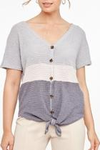 Shortsleeve Knitted Top