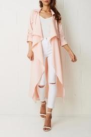 Pink Duster Coat