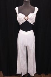 Cropped Pant Set