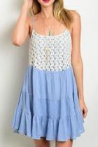 Sky Blue Dress