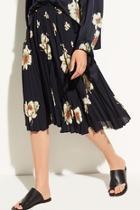 Gardenia Pleated Skirt