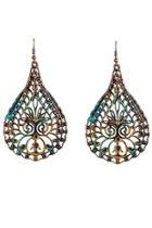 Patina Teardrop Earrings