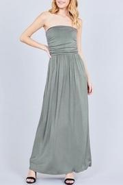 Olive Tube Dress