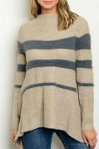 Taupe Aline Sweater