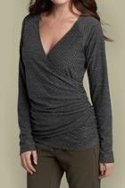 French Wrap Top