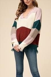 Rust Combo Sweater