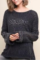 Garment Dyed Sweater