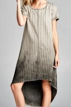 Striped Ombre Dress