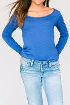 Blue Long-sleeve Tee