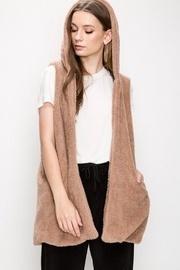 Mocha Faux-fur Vest