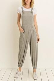 Relaxed Knit Overalls