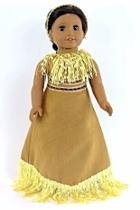 Doll Pocahontas Dress