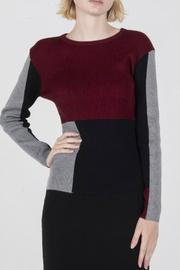 Ribbed Colorblock Top