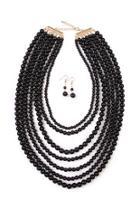 Bubble Strand Necklace Set