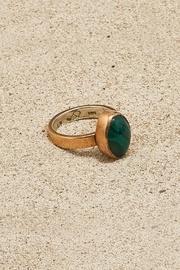 Copper Malachite Ring