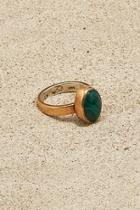 Copper Malachite Ring