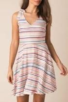 Thalia Striped Dress