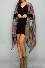 Convertible Poncho Pocket-shawl