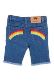 Rainbow Jean Shorts