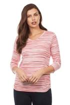 Stripe Ruched Top