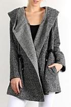 Belted Pattern Coat