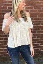 Ots Striped Top