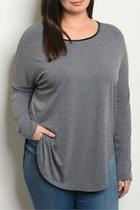 Charcoal Plus Top