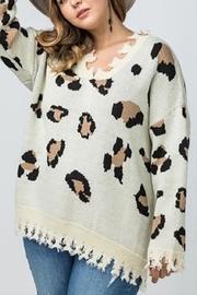 Plus Leopard Sweater